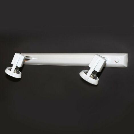 Regleta de techo Arco 2 luces blanco CR 002-2000-2-001
