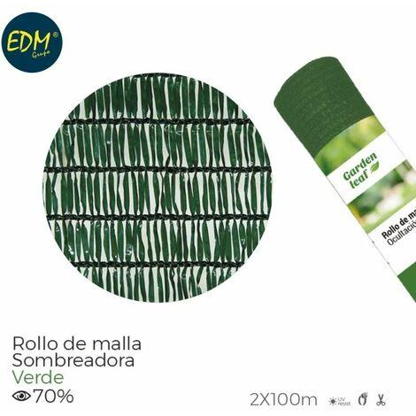 Rollo malla verde 70% 2,00x100mts