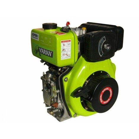 Varan Motors - 92680 Motor diésel 4.92kW 6.7CV 305cc + arranque eléctrico - Gris