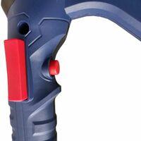 Varan Motors - M20-HQ-01 Mezclador sobre batería 20v 2Ah + Cargador, Mezclador para yeso, cemento, mortero, pegamento, enlucido - Azul