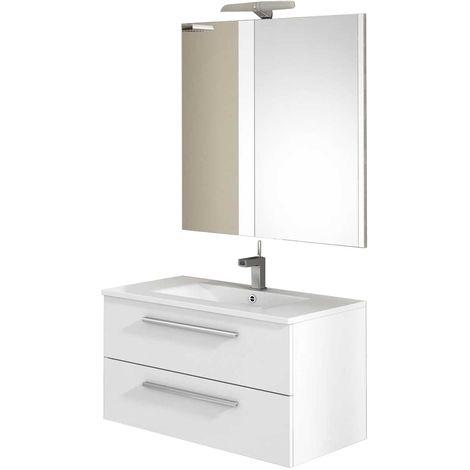 CORDOBA Conjunto mueble de baño Blanco 80 cm