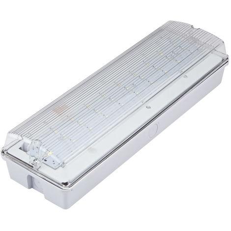 Lámpara de emergencia 4.3W - Iluminación de seguridad industrial IP65