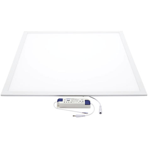 Panel LED Empotrado de 20W 300 x 300 mm - Oficina Cuadrada - Blanco Natural/Frío