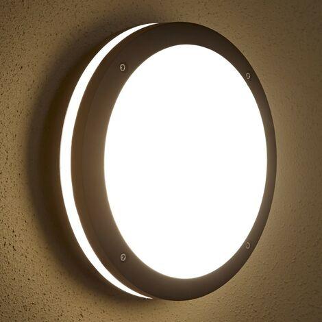 Plafón de Pared Circular Exterior