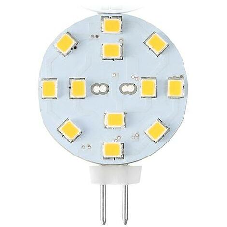 Bombilla LED G4 Bi-Pin 2,3W plana   Azul