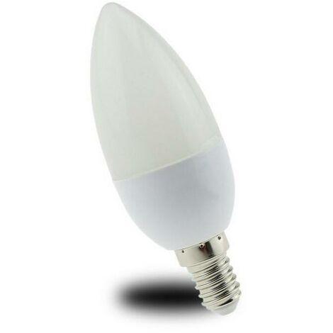 Bombilla vela LED E14 C37 5W 300lm Opal | Blanco Neutro