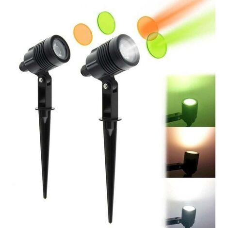 Foco LED con pincho 6W 480lm 230V IP65