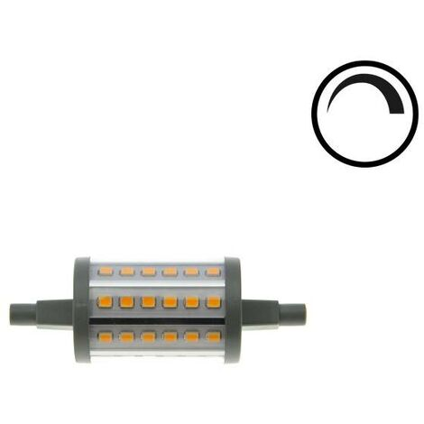 Bombilla LED R7S Lineal 78mm 7W regulable 800Lm   Blanco Cálido