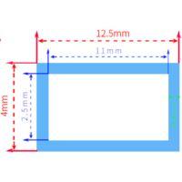 Funda IP67 estanca x1m para tira de LED de 10mm