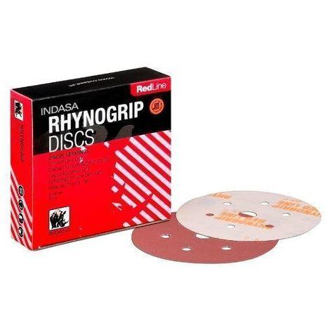 Disco Lija 150 mm Rhynogrip Red Line Indasa   2000 - Por unidades
