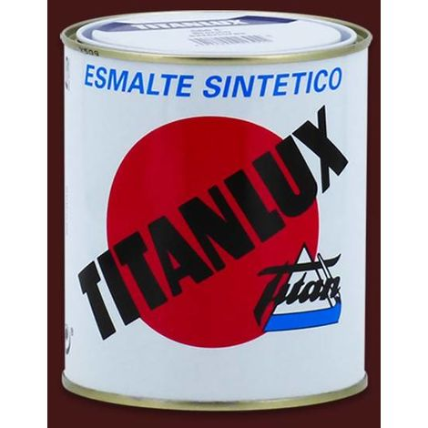 Esmalte Sintético Titanlux Brillante   375 mL - 524 Burdeos