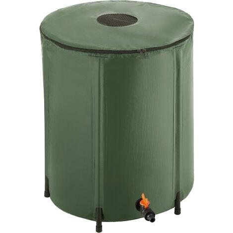 Récupérateur d'eau de pluie - réservoir d'eau de pluie, citerne d'eau de pluie, cuve à eau - 200 L