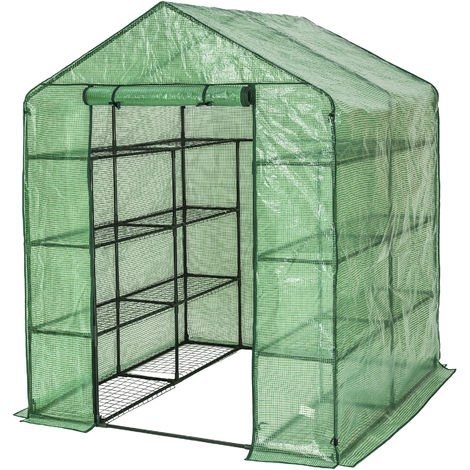 Mini and walk-in greenhouses