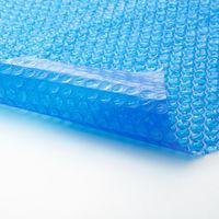 Bâche à bulles pour Piscine ronde de protection extérieure en Plastique 2,5 m Bleu