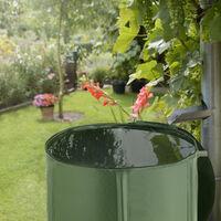 Récupérateur d'eau de pluie - réservoir d'eau de pluie, citerne d'eau de pluie, cuve à eau - 250 L