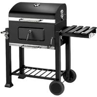 Barbecue à charbon Austin 48 x H 76 x 59 cm Gris, noir