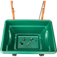 Epandeur à Engrais Sel 25 Litres Vert