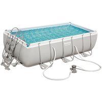 Kit piscine tubulaire Bestway POWER STEEL FRAME POOL rectangulaire 404 x 201 x 100cm