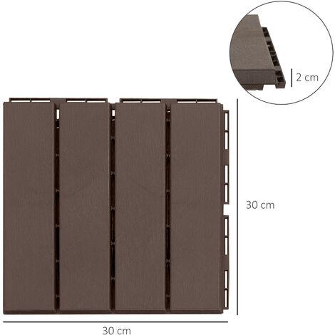 Especificaciones de la instalación de una terraza de madera composite
