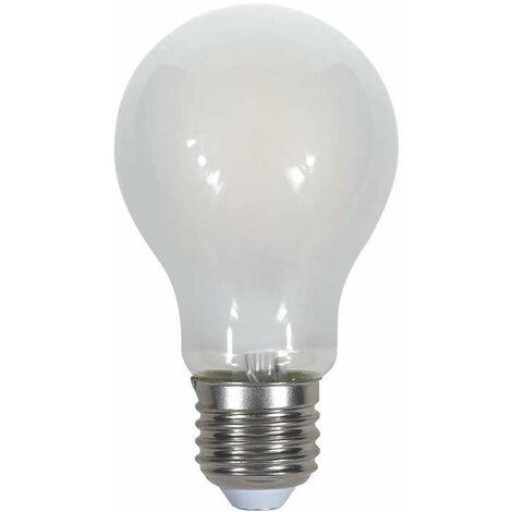 Bombilla LED E27 Filamento Globo Frost Cover A60 4W Temperatura de color - 6400K Blanco frío