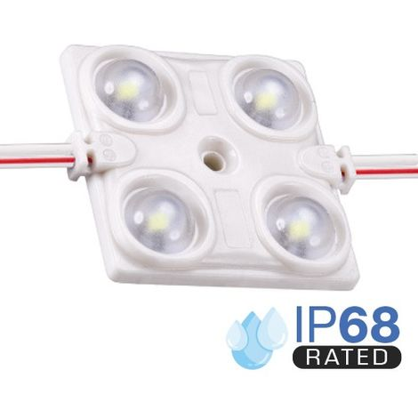 Módulo LED para rotulación Verde 1.44W 4LED IP68 12V Diodo SMD2835