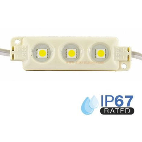 Módulo LED para rotulación RGB 0.72W IP66 12V Diodo SMD5050