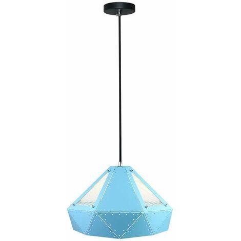 Lámpara Colgante Serie Prism Original Azul