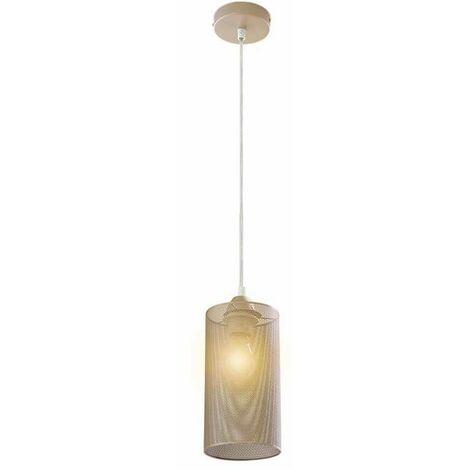 Lámpara Colgante Serie Sandy Cylindrical Gold