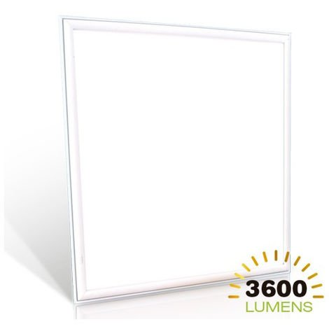 Panel LED cuadrado Samsung PRO 45W 595 mm x 595 mm Temperatura de color - 3000K Blanco cálido