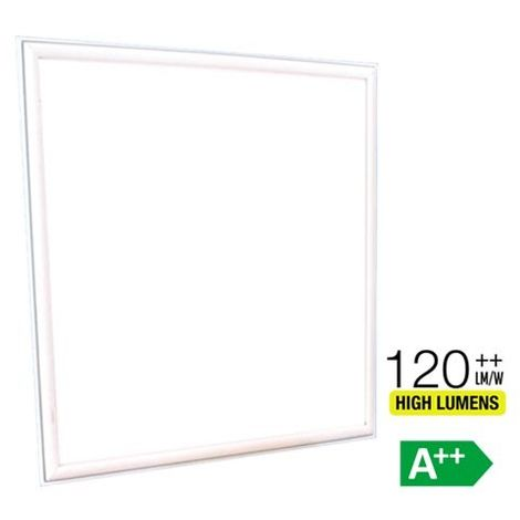 Panel LED Premium High Lumen 36W 600 mm x 600 mm 120° Driver incluido Temperatura de color - 4000K Blanco natural