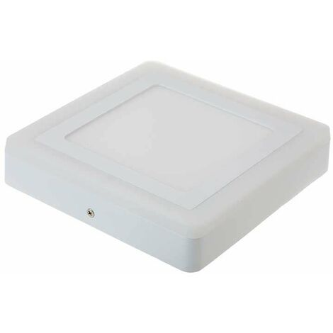 Downlight superficie Twin LED cuadrado 15W 120° Temperatura de color - 4000K Blanco natural