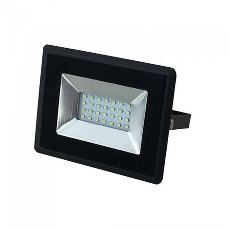Foco Proyector LED 20W SMD 110° E Series Negro Temperatura de color - Verde