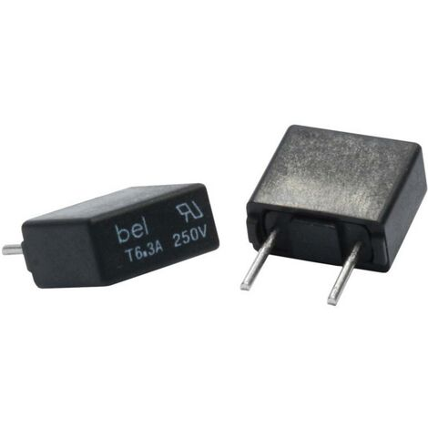 6.3 mm x 32 mm 3 A 250 V Träge T ESKA UL632.360 UL-Feinsicherung Ø x L