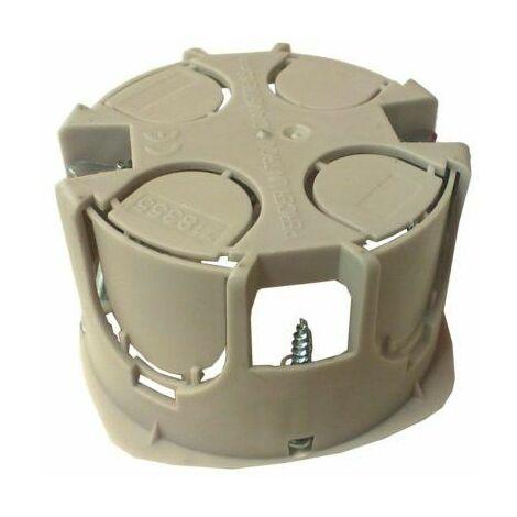 boite a encastrer jaune simple profondeur 50 mm d 65