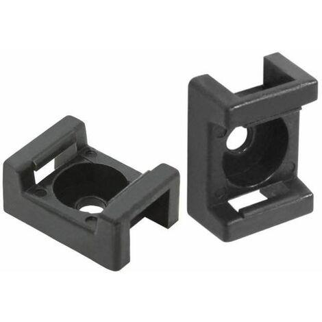 Embase à visser simple pour rilsan : 9 mm