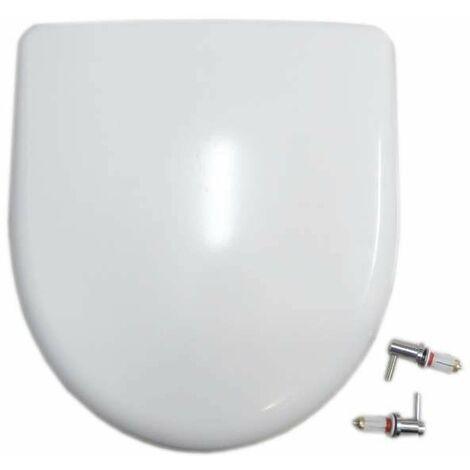 Abattant Selles Royan compact Blanc, Allia Prima Multicompact et Multicompact d'angle (0187)