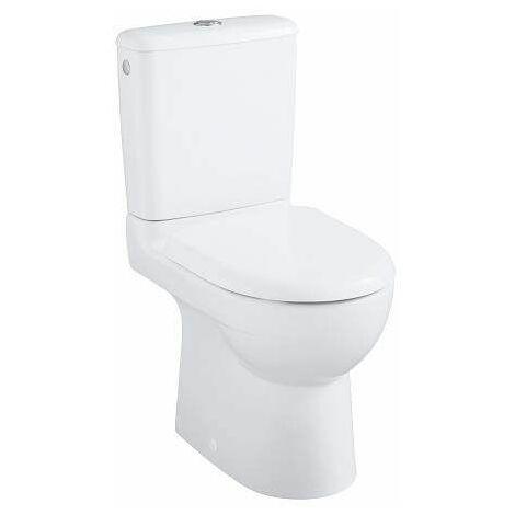 Pack WC multi PRIMA compact, 61cm, avec sortie horizontale