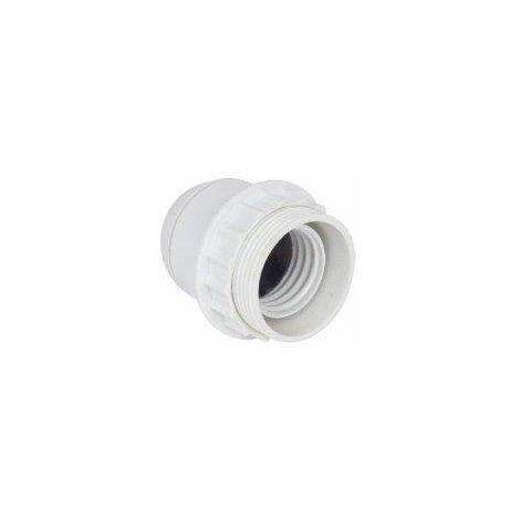 Douille PVC pour E27, chemise 1/2 filetée