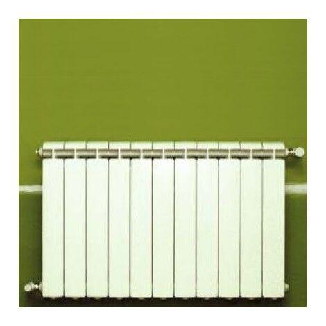 Chauffage central fonte aluminium 11 éléments blanc KLASS 600, 1452w