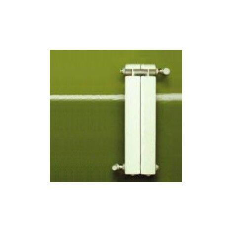 Chauffage central fonte aluminium 2 éléments blanc KLASS 500,  232w