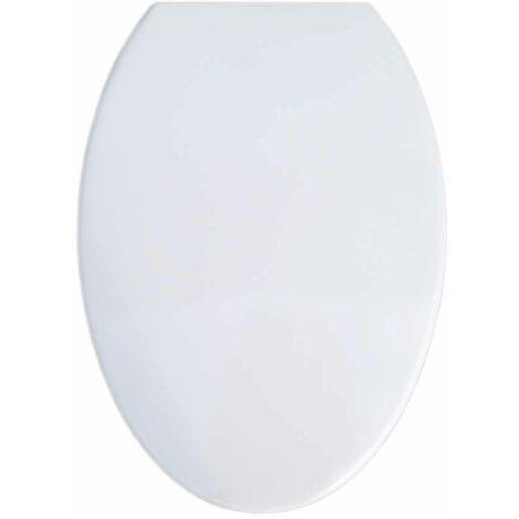 Abattant équivalent SELLES JOAN blanc pour cuvette au sol
