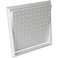 WilTec Trappe Visite Cadres Aluminium 40x60cm 12,5mm Pacoplatre Porte Clapet r/évision Alu Maintenance