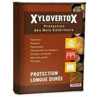 Huile de protection bois extérieurs Incolore Xylovertox, 2L