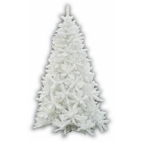 Albero Di Natale Bianco.Albero Di Natale Mod Sherwood Altezza 240 Cm Colore Bianco 1448 Rami Ag22105