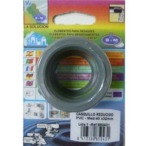 Casquillo tubo evacuacion reductor 40/32 s&m