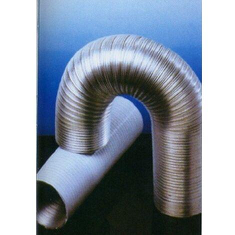 Tubo extraccion aire 120mmx5mt comp. alu bl alu espir espiro
