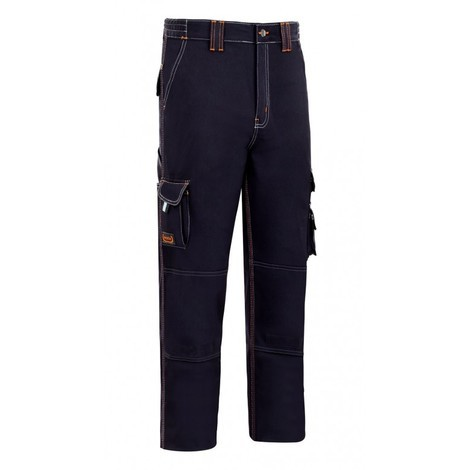 Pantalon trabajo t46 alg az/mar stretch triple costura mltib