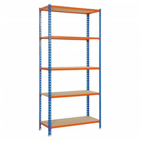 Kit Maderclick Mini 5/400 Azul/naranja/madera 1800x800x400
