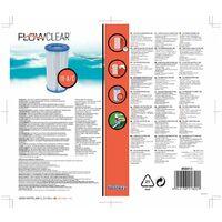 Filtro depuradora pisc 3040lt/h cartucho bestway 58012