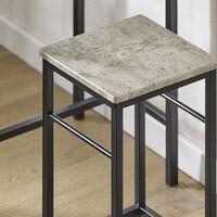 SoBuy Bar High table and 2 Stools, kitchen breakfast bar Set,OGT10-HG